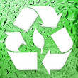 Going Green Recycling — Stock Photo #9241845