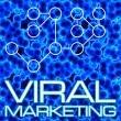 Stock Photo: Viral Marketing Diagram