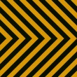 Seamless Hazard Stripes — Stock Photo