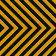 Seamless Hazard Stripes — Stock Photo #9242038