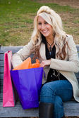 Shopper Girl — Stockfoto