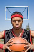Confident Basketball Player — Stockfoto