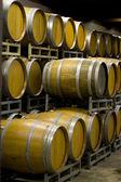 Winery Cellar Barrels — Stock Photo
