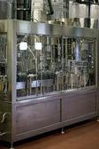 Máquina de engarrafamento de vinho — Foto Stock