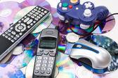 Modern Media Controllers — Stockfoto