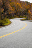 New England Road — Stock Photo