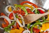 Stir Fried Vegetables — Stock Photo