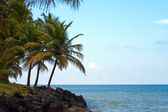 Luquillo Beach in Puerto Rico — Stock Photo