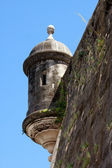El Morro Fort Watch Tower — Stock Photo