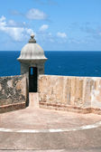 El Morro Fort Sentry Watchtower — Stock Photo