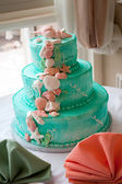 Tiered Wedding Cake — Stock Photo