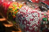 Candy shop potten — Stockfoto