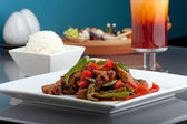 Thai Chile Basil Duck — Stock Photo