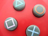 Gamepad buttons — Stock Photo