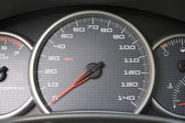 Car Dashboard Gauges — Stock Photo