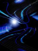 Синий набор из двух предметов — Стоковое фото