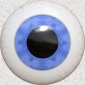 Textura de globo ocular — Foto de Stock