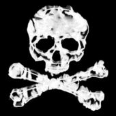 Skull and Cross Bones — Stock Photo