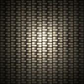 Detailed carbon fiber — Stock Photo