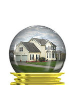 Real Estate Market Predictions — Stock Photo