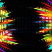 Colorful Swirls Layout — Stock Photo