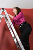 Climbing The Corporate Ladder — Stock Photo