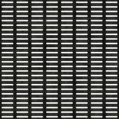 Bezešvé kovový rošt textura — Stock fotografie