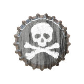 Poison Bottle Cap — Stock Photo