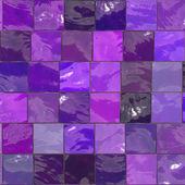 Purple bathroom tiles — Stock Photo