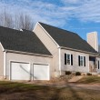 Vinyl Sided House with 2 Car Garage — Stock Photo #9257573