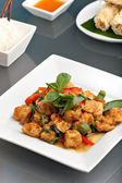 Thai Tofu Dish with Appetizers — Stock Photo