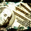 Stock Photo: Grungy Money Background
