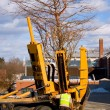 Tree Transplanter - Stock Photo