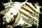 Grungy Money Background — Stock Photo