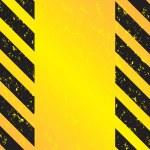 Hazard Stripes Vector — Stock Vector