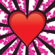 Royalty-Free Stock Imagen vectorial: Heart Vector