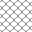 Stock Vector: Chain Link Fence Vector