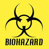 Biohazard Vector — Stock Vector