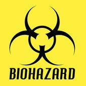 Biohazard Vector — Stock Vector