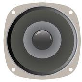Speaker Cone Vector — Stock Vector