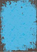 Blue Grunge Vector — Stock Vector