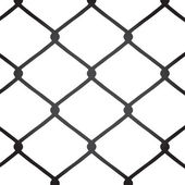 Chain Link Fence Vector — Stock Vector