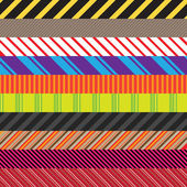Stripes Variety Pack — Stock Vector