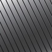 Grooved Metal Texture — Stock Vector