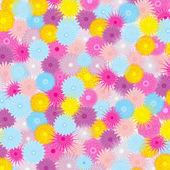 Sfondo con splendidi fiori — Vettoriale Stock