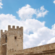 Genoese fortress - Stock Photo