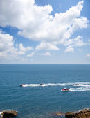 Wyścig łodzi — Zdjęcie stockowe