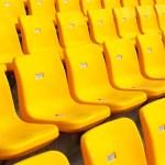 Yellow seat — Stock Photo