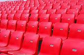 红色座位 — 图库照片