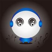 Music Baby Design — Stock Vector